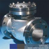 Form-Stahl Wcb/Lcb/Wc6/Wc9 HF-Flansch-Schwingen-Rückschlagventil