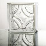 Блок угловой стойки - стеклянный блок для установки на стену в угол