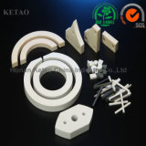 Pieza de cerámica de la pureza elevada 95-99.9% del alúmina de la placa de tubos del alúmina de cerámica de encargo de Rod