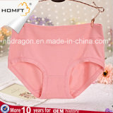 Ropa interior de bambú Hip Panty de las señoras de la ropa interior de las chicas jóvenes del color sólido de la fibra de la mención con estilo Mediados de-Rised