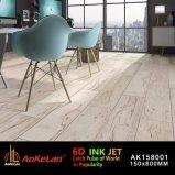 木デザインの建築材料のインクジェットマットの無作法なセラミックタイル