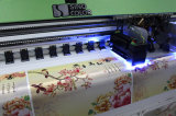 Sinocolor 큰 체재 기치 인쇄 기계 Ricoh 인쇄 헤드 Ruv3204를 가진 UV Priner 천장 Softfilm 인쇄 기계