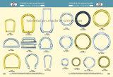 Anillo o del metal de los accesorios del hardware del bolso de la aleación del cinc