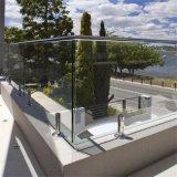 주문을 받아서 만들어진 현대 디자인 유리제 발코니 방책 디자인