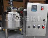 Acier inoxydable chemisé cuve de mélange de chauffage à vapeur