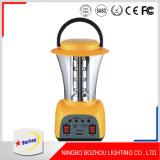 LED recargable luz de emergencia, multifuncionales LED camping