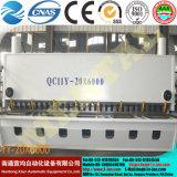 Машина QC11y режа быстро причаливая гидровлическому CNC