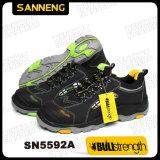 Seguridad Industrial zapatos con suela de goma PU/(SN5592)