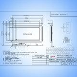 Графический ЖК-дисплей 240x128 точек LCM модуль белый IC T6963c