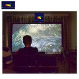 """Las pantallas de xy HK80c-MF1 80""""~200"""" de la película de cine en casa de la pantalla del proyector, pantalla de proyector de plata de 3D"""