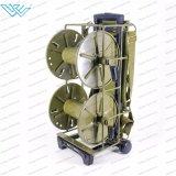 Портативный складной Tractical Telecom для использования вне помещений военных оптоволоконный кабель мотовила