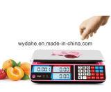 LCD/vendedor caliente LED 40kg que cuenta la escala electrónica automática Dh-583