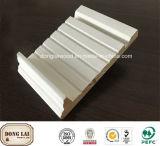 中国のもみ木のOEMの戸枠の壁の木製の鋳造物