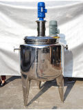 SUS поставкы. Стальной реактор, с активный топлением бака и пара или нагревом электрическим током Reator