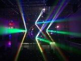熱い4in1 LEDのビーム無限回転ライト9*15W