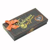 Dom rígida de papel de alta qualidade chocolate 12PCS da caixa de embalagem