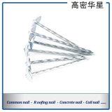 Konstante Qualität der Reibung galvanisierten Regenschirm-Hut-gewölbten Nägel