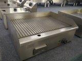 Gauffreuse de table électrique d'acier inoxydable de restaurant pour la crêpe avec l'usine Pirce