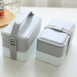 Sacchetto del pranzo e casella di pranzo isolati sacchetto più freddo 10202A