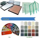 Ventana de aluminio de Cirular del material de construcción con el vidrio para la venta