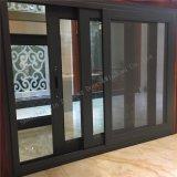 Puerta deslizante de aluminio del precio competitivo de la alta calidad con perfil gris