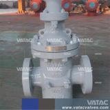 Caixa de velocidades através da canalização flangeada válvula gaveta
