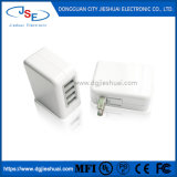 4-портовый настенное зарядное устройство USB (40 Вт) Совместимость с iPhone и Телефоны Samsung