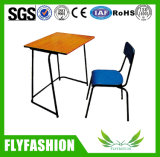 Mesa do estudante da sala de aula barata do frame do metal única (SF-29C)