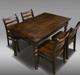 固体木の食事の椅子の居間の家具(M-X2465)