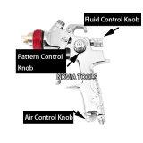(Hoog volume lage druk) het Milieuvriendelijke Voc HVLP Hoge Spuitpistool van de Ernst van het Eind Nv-665g