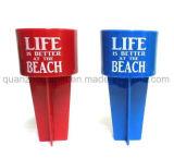 OEM Hot Sale plage porte-gobelet en plastique