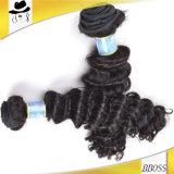 Commerce de gros cheveux vierges de brésilienne des extensions de cheveux