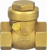 Válvula de verificação de bronze clássica do balanço