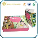 Masque facial Skincare carte papier Emballage haut en couleur avec carte à bas prix de l'impression (box)