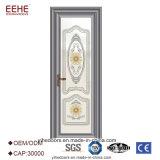 Fábrica de vidro da porta da dobradiça de alumínio do toalete do frame produzida