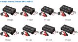 Chargeur du chargeur 5A 12V de batterie de voiture d'étapes du Portable 8 de la CE