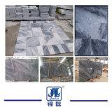 構築のための自然な磨かれた曇った灰色の大理石かフロアーリングまたは壁または装飾または建築材料