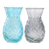 Vaso di vetro di disegno dell'ananas