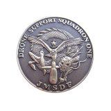 Kundenspezifisches gefälschtes Südafrika-Wolframgold überzogene Münze