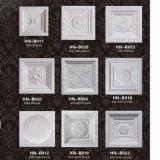 PU-Decke deckt Polyurethan-Decken-Medaillon-/Rosen-Dekoration Hn-B011 mit Ziegeln