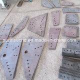 Inscription de poinçon du constructeur Tpprd103 et foreuse pour les plaques en acier