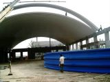No-Girder Arch Roof Matel Bending Roll Forming Machine