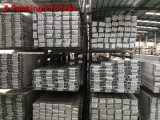 Profil en aluminium/en aluminium d'extrusion pour la lavette Rod (RAL-24)