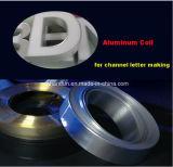 アルミニウムトリムの帽子はアルミニウムテープ経路識別文字の作成のための突き出た