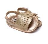 Ходоки Unisex сандалий Prewalker лета Tassel младенца резиновый единственных Non-Slip первые различные