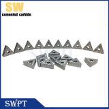 O carboneto de tungstênio introduz a ferramenta do CNC, girando a ferramenta