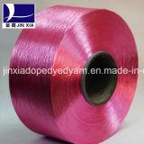 FDY Spannlack gefärbtes kontinuierliches Polyester-Garn des Heizfaden-600d/144f