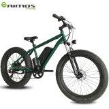 Vélo d'aluminium de la montagne E de pneu de Bafang 750W de vélo de neige d'alliage gros