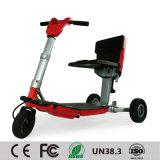 Vespa superventas de la movilidad 2017, vespa eléctrica de equilibrio del plegamiento elegante del triciclo del uno mismo