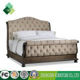 Custome는 Sleigh를 가진 백색에 있는 1인용 침대 프레임을 디자인한 (ZBS-876)